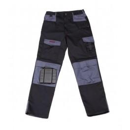 Pantalon de travail noir / gris